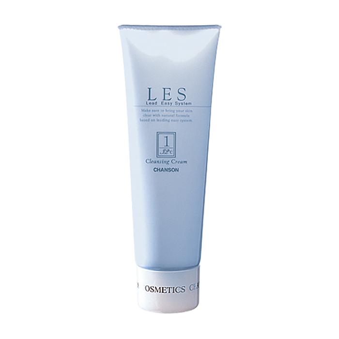 Купить Очищающий крем для лица Chanson Cosmetics Les Cleansing Cream, Нежный крем для растворения макияжа и загрязнений на коже лица, Япония