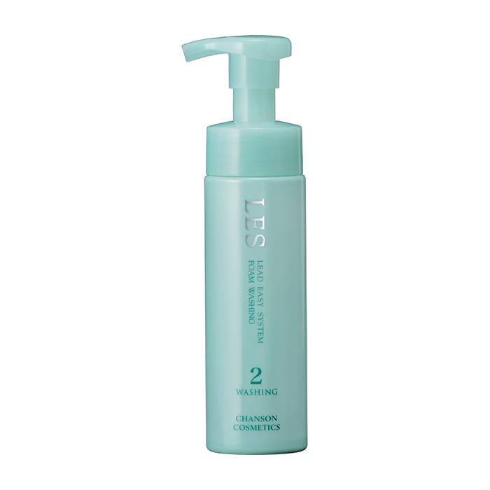 Купить Пенка для умывания Chanson Cosmetics Les Clear Washing, Мелкотекстурная пенка для бережного очищения и демакияжа кожи лица, Япония
