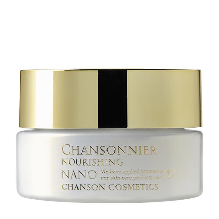 Купить Крем для лица Chanson Cosmetics Chansonnier Nano Nourishing Cream, Омолаживающий питательный нано-крем для кожи лица с осветляющим эффектом, Япония