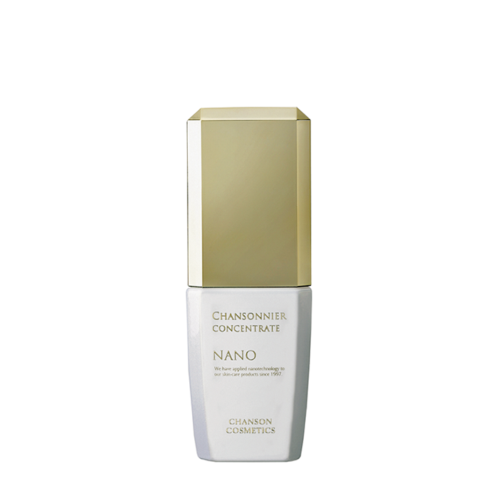 Купить Концентрат для лица Chanson Cosmetics Chansonnier Nano Concentrate, Омолаживающий нано-концентрат для кожи лица с осветляющим эффектом, Япония