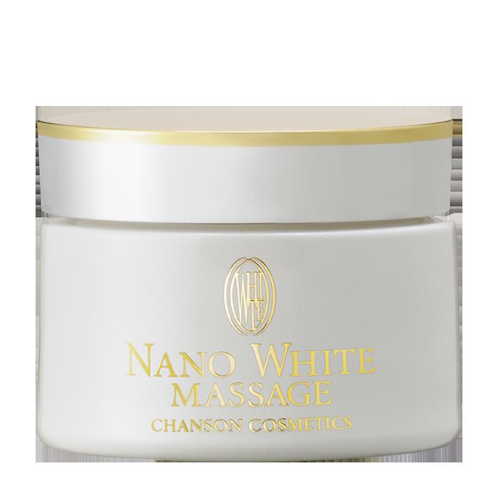 Купить Массажный крем для лица Chanson Cosmetics Nano White Massage Cream, Массажный отбеливающий нанокрем для лица с насыщенной текстурой, Япония