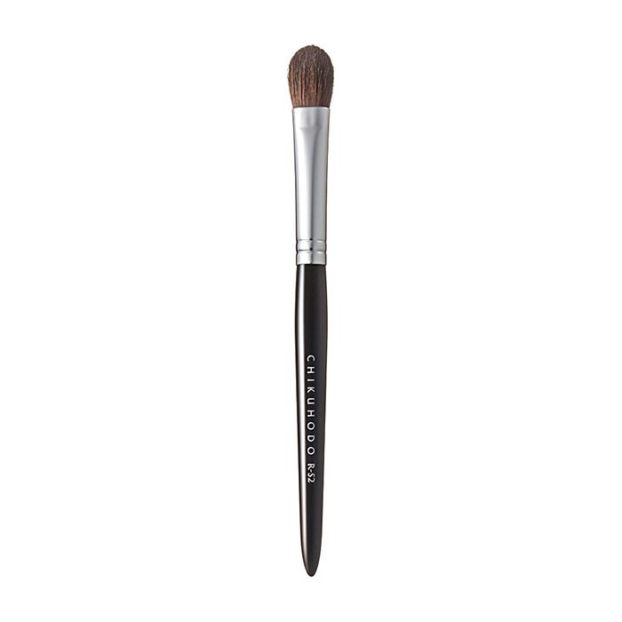 Купить Кисть для макияжа Chikuhodo Eye Shadow Brush R-S2, Универсальная кисть из натурального ворса для макияжа глаз, Япония