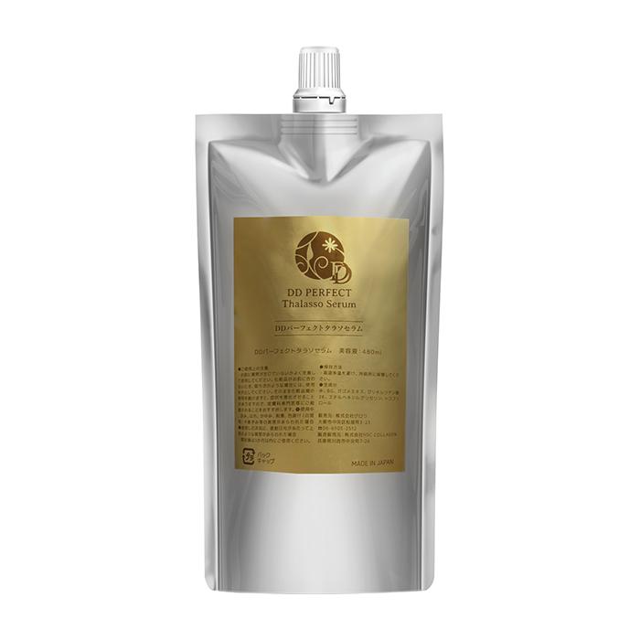 Купить Сыворотка для кожи и волос DD Perfect Thalasso Serum (480 мл), Сыворотка с фукоиданом для глубокого восстановления кожи и волос, DD Perfect Plus, Япония