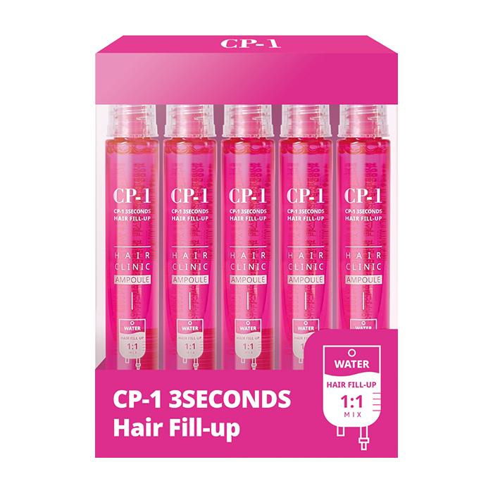 Филлер для волос Esthetic House CP-1 3 Seconds Hair Ringer Hair Fill-up Ampoule (5 шт. х 13 мл), Интенсивный филлер для мгновенного питания и восстановления волос, Южная Корея  - Купить