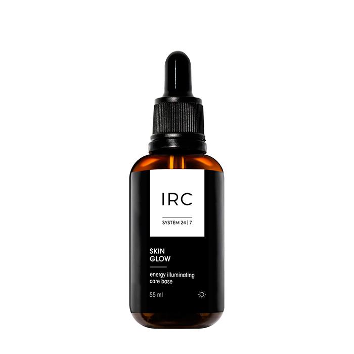 Купить Сыворотка-база под макияж IRC Skin Glow Energy Illuminating Care Base, Тонизирующая сыворотка-база под макияж 2 в 1 со светоотражающими частицами, IRC 24|7, Россия