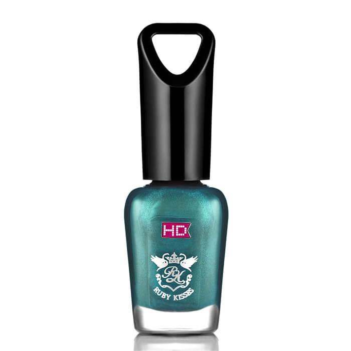 Купить Лак для ногтей Kiss HD Mini Nail Polish #MNP33 | Мягкий Киви, Мини-лак для максимальной яркости и ослепительного неонового блеска ногтей, США