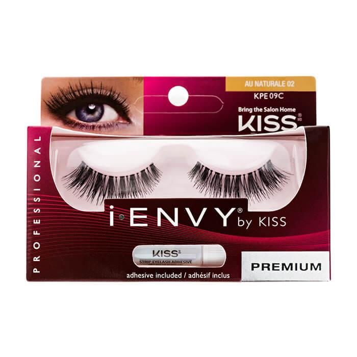 Купить Накладные ресницы Kiss I Envy Eyelashes #KPE09C Au Naturale 02 | Обаяние, Накладные ресницы для создания различных образов, США