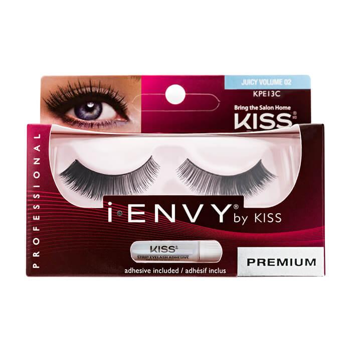 Купить Накладные ресницы Kiss I Envy Eyelashes #KPE13C Juicy Volume 02 | Элегантность, Накладные ресницы для создания различных образов, США