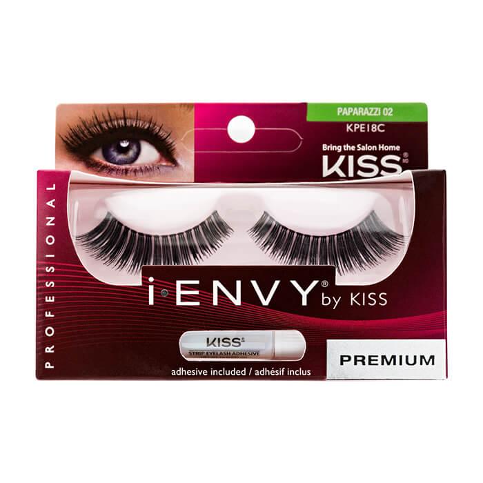 Купить Накладные ресницы Kiss I Envy Eyelashes #KPE18C Paparazzi 02 | Роскошь, Накладные ресницы для создания различных образов, США