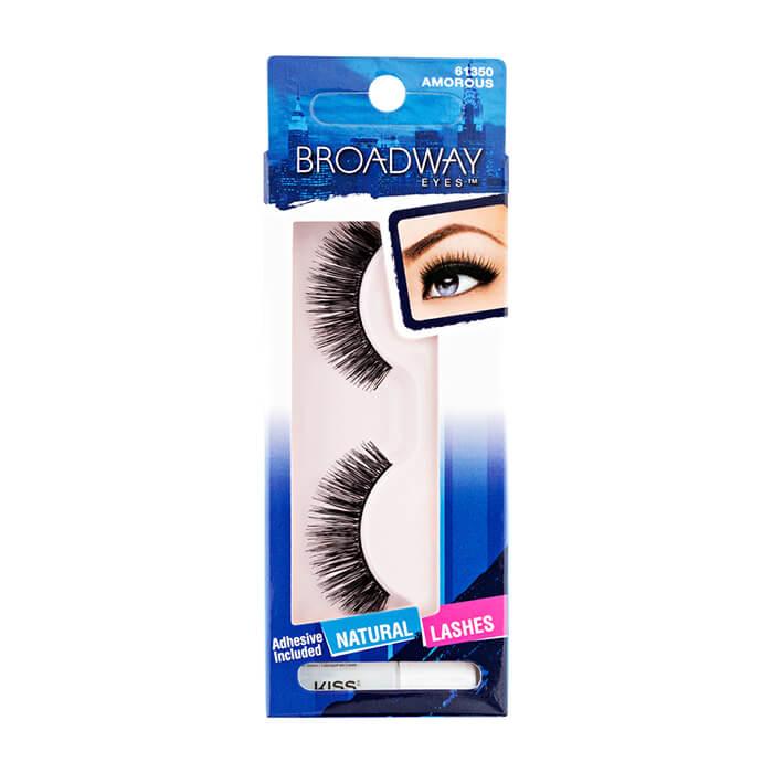 Купить Накладные ресницы Kiss Broadway Eyelashes #BEL01C | Влюбляй в себя, Накладные ресницы для преображения внешности и придания взгляду особого шарма, США