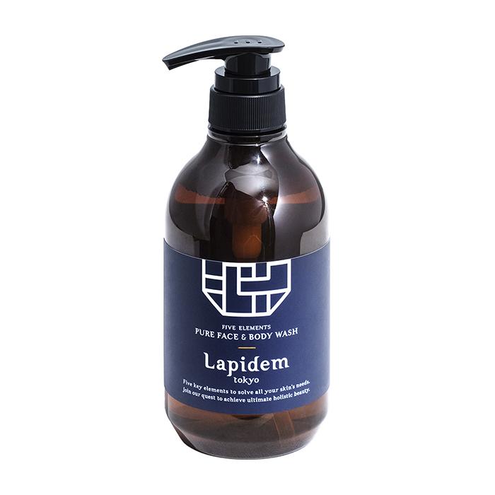 Купить Гель для умывания Lapidem Pure Face & Body Wash, Очищающее средство для кожи лица и тела с экстрактом рисовых отрубей и аминокислотами, Япония