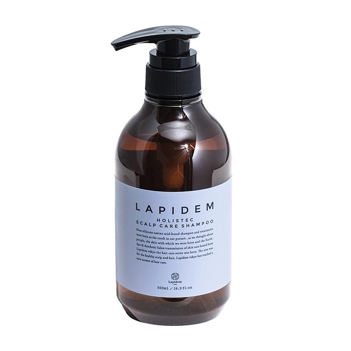Купить Шампунь для волос Lapidem S&A Shampoo, Холистический шампунь для ухода за волосами и деликатного очищения кожи головы, Япония