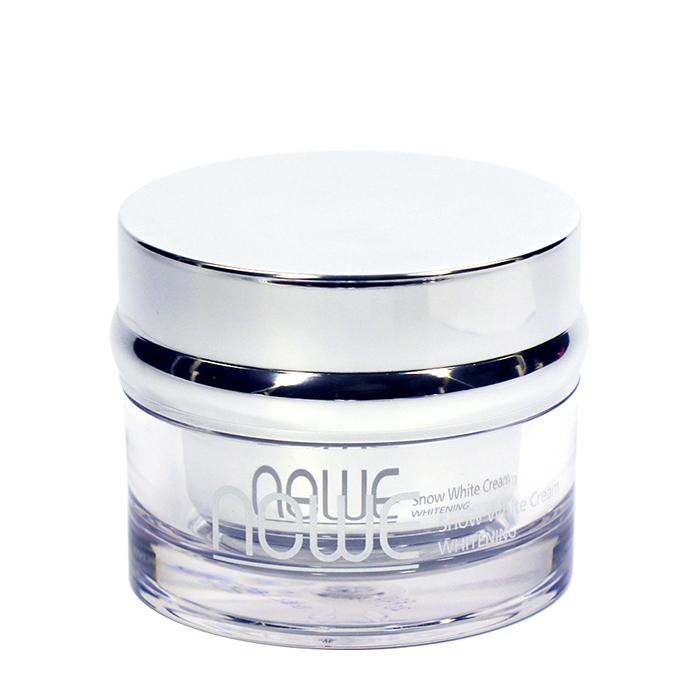 Купить Крем для лица Newe Snow White Cream, Ежедневный увлажняющий и питательный крем для кожи лица с осветляющим эффектом, Южная Корея