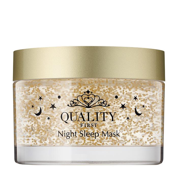 Купить Ночная маска Quality First Queen's Premium Night Sleep Mask, Премиальная антивозрастная ночная маска для увлажнения и защиты кожи лица, Япония