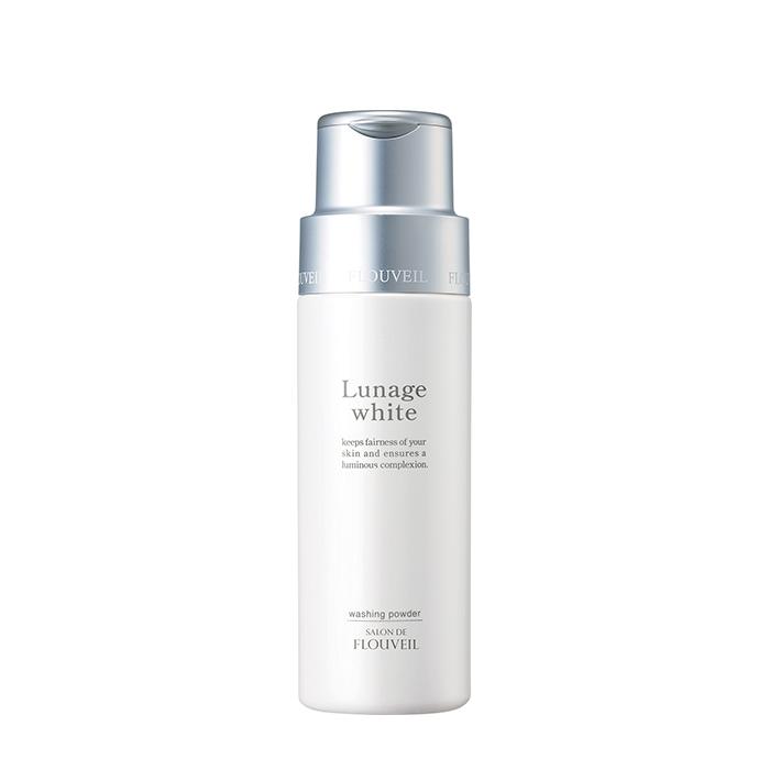 Купить Пудра для умывания Salon De Flouveil Lunage White Washing Powder, Порошкообразное средство для умывания кожи лица с эффектом пилинга, Япония