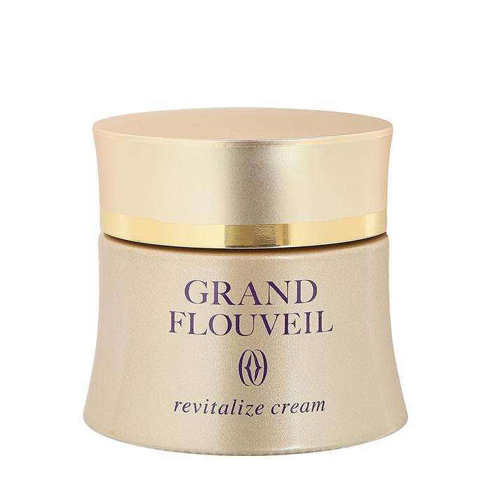 Купить Крем для лица Salon De Flouveil Grand Flouveil Revitalize Cream, Восстанавливающий крем с плотной роскошной текстурой для молодости и красоты кожи лица, Япония