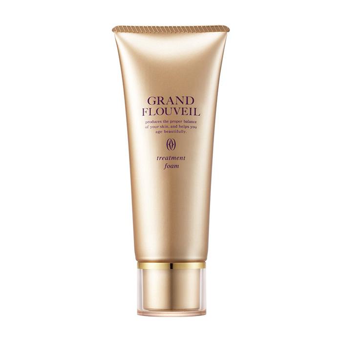Купить Пенка для умывания Salon De Flouveil Grand Flouveil Treatment Foam, Кремообразная мелкотекстурная пенка для очищения кожи лица от всех видов загрязнений, Япония