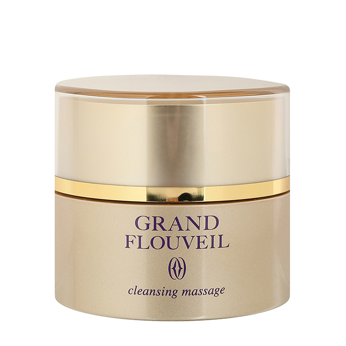 Купить Очищающий крем для лица Salon De Flouveil Grand Flouveil Cleansing Massage, Массажный крем для снятия макияжа с экстрактом красных морских водорослей, Япония