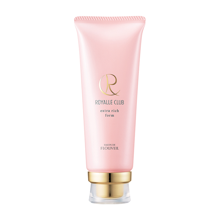 Купить Пенка для умывания Salon De Flouveil Royalle Club Extra Rich Foam, Очищающая ультрапитательная пенка для кожи лица с гиалуроновой кислотой, Япония