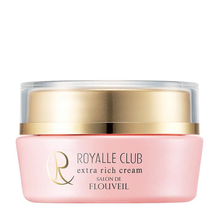 Крем для лица Salon De Flouveil Royalle Club Extra Rich Cream, Питательный антиоксидантный крем для кожи лица с олиго-гиалуроновой кислотой, Япония  - Купить