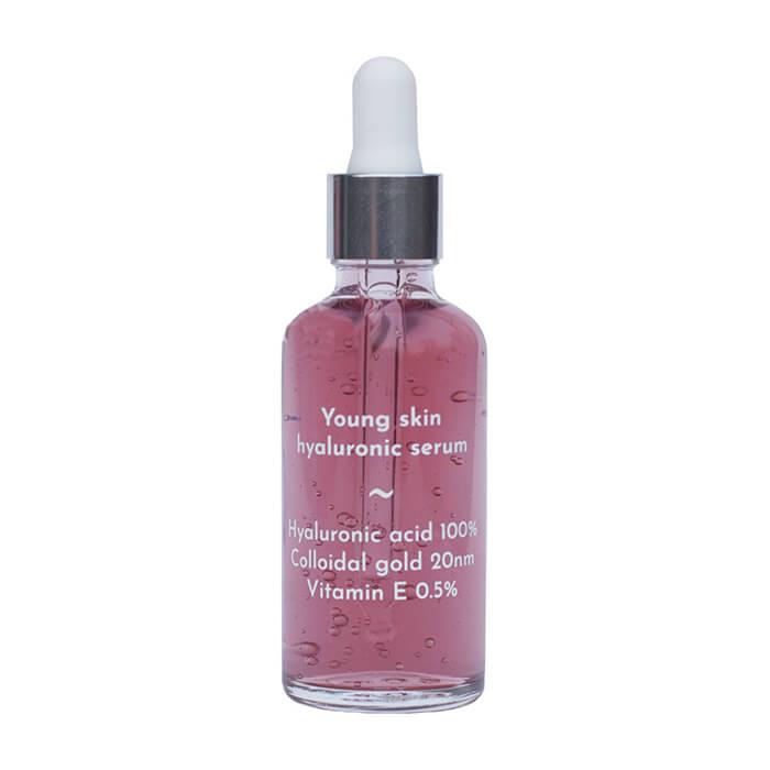 Сыворотка для лица Skinomical Young Skin Hyaluronic Serum Гиалуроновая сыворотка для молодой кожи с золотом и витаминами Е & C фото
