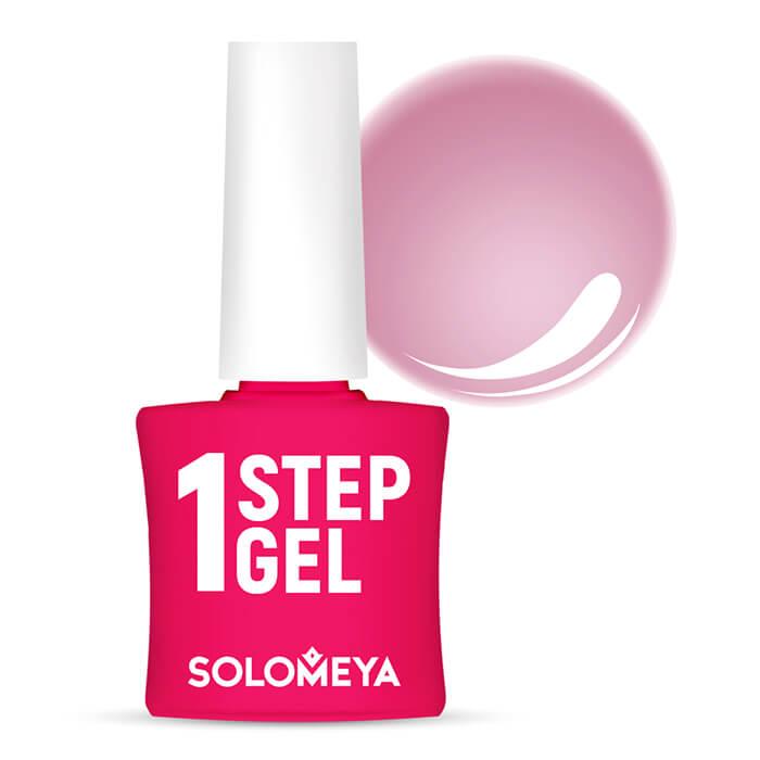 Купить Гель-лак для ногтей Solomeya One Step Gel #7 Velvet   Бархат, Однофазный гель-лак со стойким глянцевым покрытием, Великобритания