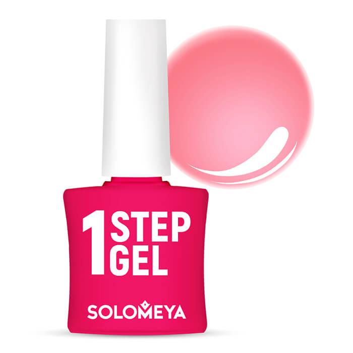 Купить Гель-лак для ногтей Solomeya One Step Gel #9 Sorbet   Сорбет, Однофазный гель-лак со стойким глянцевым покрытием, Великобритания