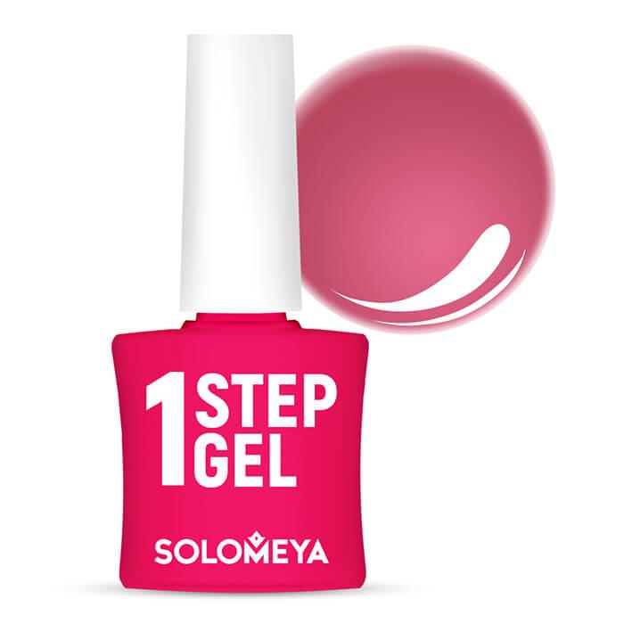 Купить Гель-лак для ногтей Solomeya One Step Gel #10 Carmine   Кармин, Однофазный гель-лак со стойким глянцевым покрытием, Великобритания