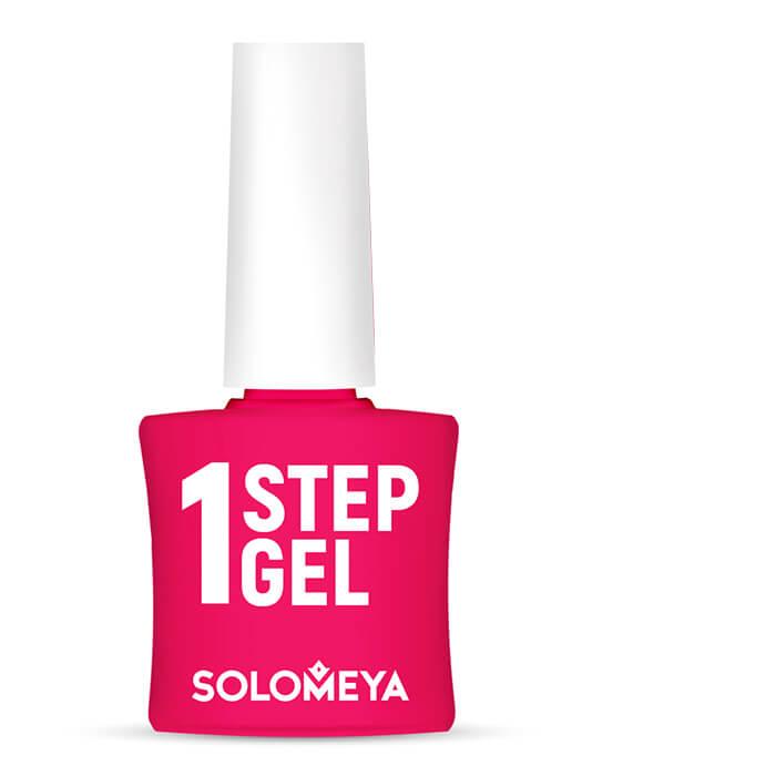 Купить Гель-лак для ногтей Solomeya One Step Gel #11 Sangria   Сангрия, Однофазный гель-лак со стойким глянцевым покрытием, Великобритания