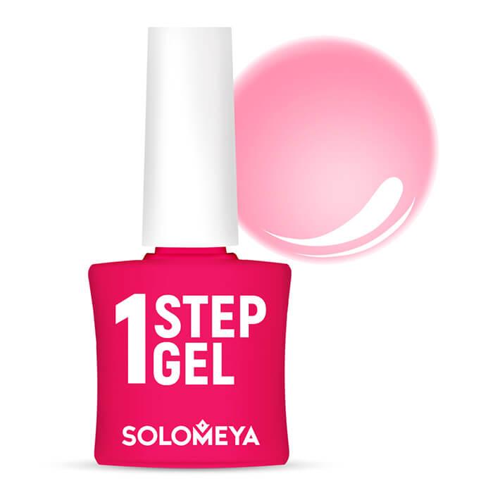 Купить Гель-лак для ногтей Solomeya One Step Gel #16 Dream   Мечта, Однофазный гель-лак со стойким глянцевым покрытием, Великобритания