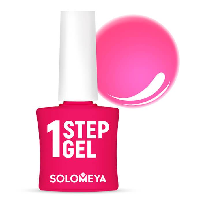 Купить Гель-лак для ногтей Solomeya One Step Gel #17 My Love   Моя Любовь, Однофазный гель-лак со стойким глянцевым покрытием, Великобритания