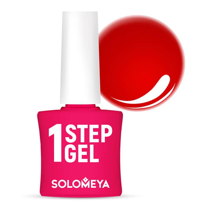 Купить Гель-лак для ногтей Solomeya One Step Gel #19 Pepper   Перец, Однофазный гель-лак со стойким глянцевым покрытием, Великобритания