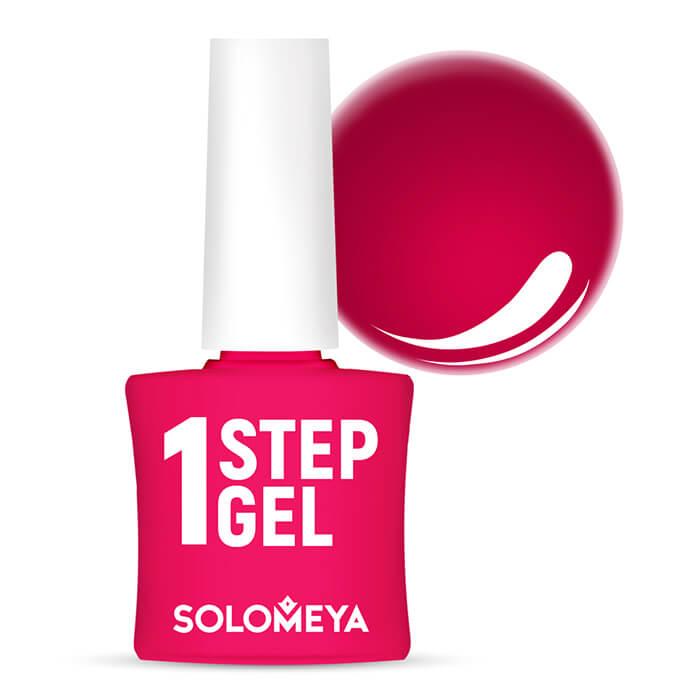 Купить Гель-лак для ногтей Solomeya One Step Gel #20 Passion   Страсть, Однофазный гель-лак со стойким глянцевым покрытием, Великобритания
