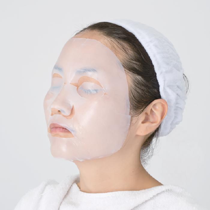 Тканевая маска Sunsorit White Lift Mask Отбеливающая лифтинговая маска для кожи лица с экстрактами трёх видов плаценты