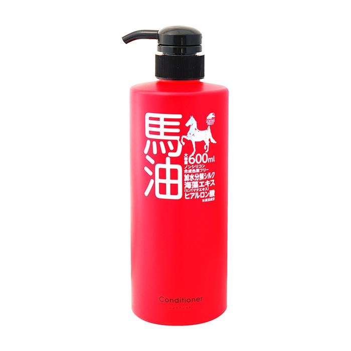 Купить Кондиционер для волос Unimatriken Conditioner, Кондиционер на основе лошадиного масла с гидролизованным шёлком и экстрактом водорослей, Япония