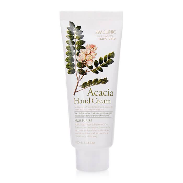 Купить Крем для рук 3W Clinic Acacia Hand Cream, Увлажняющий крем для рук с питательным экстрактом акации, Южная Корея
