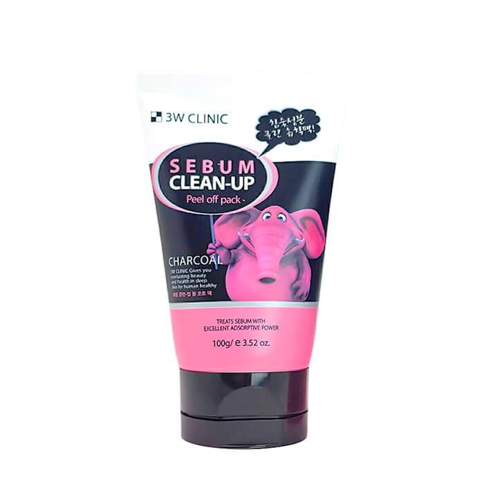 Купить со скидкой Маска-плёнка 3W Clinic Sebum Clean-Up Peel Off Pack