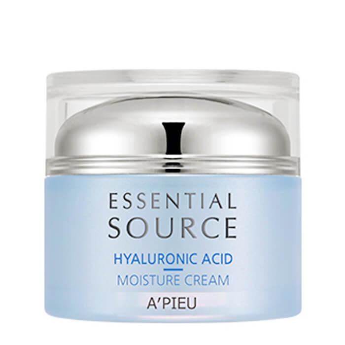 Купить Крем для лица A'Pieu Essential Source Hyaluronic Acid Moisture Cream, Увлажняющий крем для лица с гиалуроновой кислотой, Южная Корея