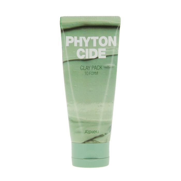 Купить Маска для лица A'Pieu Phytoncide Clay Pack To Foam, Маска-пенка для лица с очищающим и освежающим действием, Южная Корея