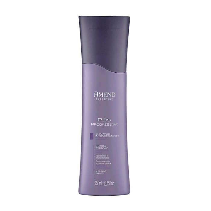 Шампунь для волос Amend Intensifier Shampoo Мягкий шампунь-ревитализант с пониженным уровнем рН и комплексом аминокислот фото