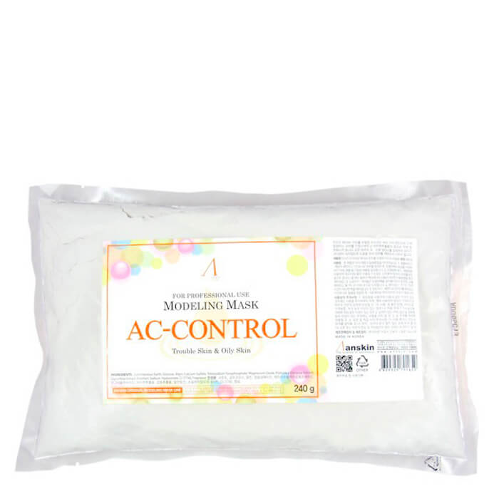 Альгинатная маска Anskin AC Control Modeling Mask (Refill) Альгинатная маска для проблемной кожи и склонной к появлению воспалений фото