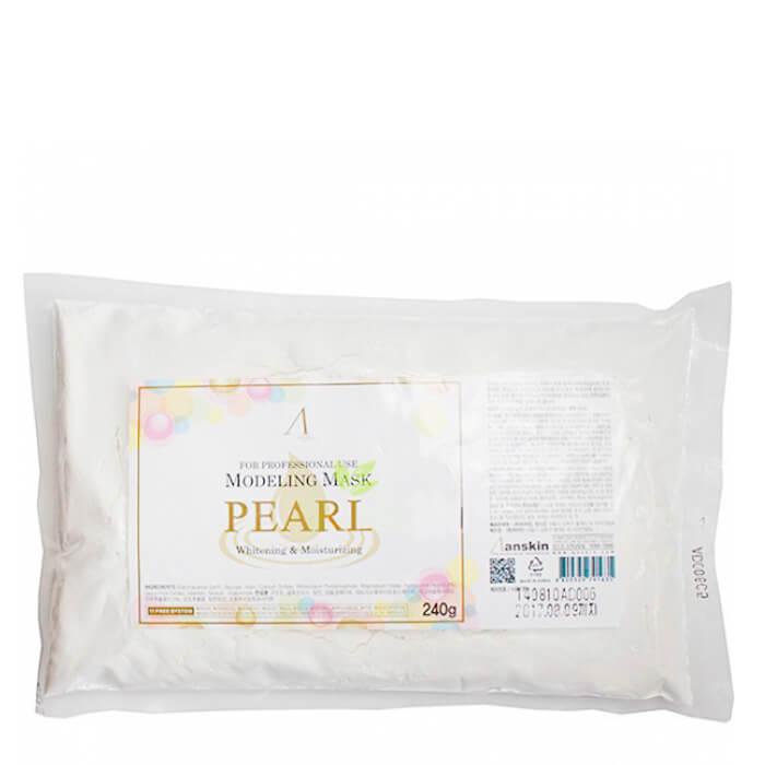 Альгинатная маска Anskin Pearl Modeling Mask (Refill) Альгинатная маска с экстрактом жемчуга для увлажнения и осветления кожи фото