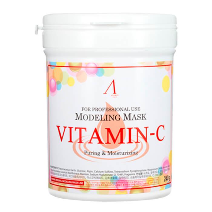 Купить Альгинатная маска Anskin Vitamin-C Modeling Mask, Альгинатная маска с витамином С для тусклой кожи, Южная Корея