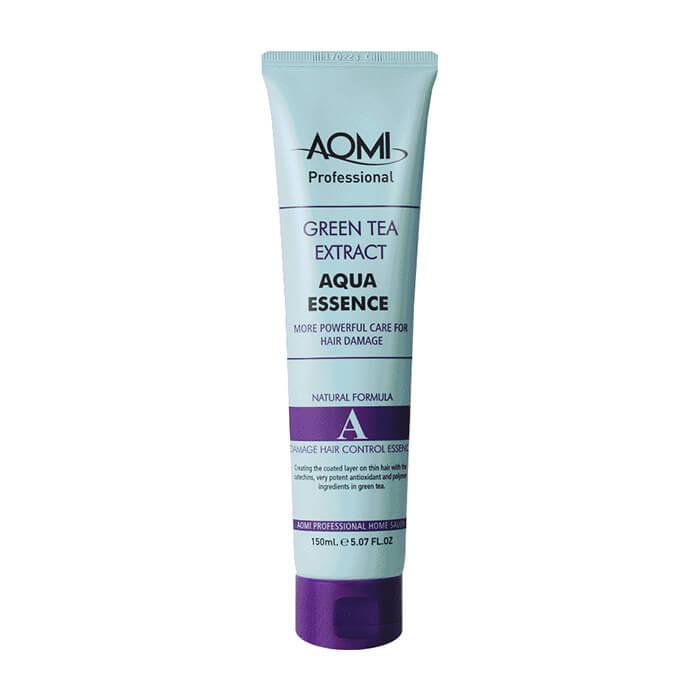 Эссенция для волос AOMI Green Tea Extract Aqua Essence Увлажняющая аква-эссенция для волос с экстрактом зелёного чая фото