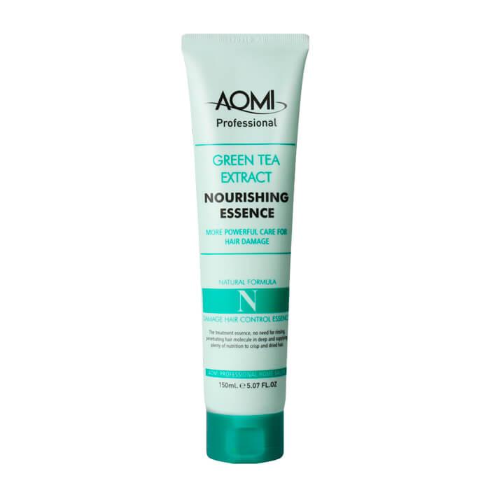 Купить Эссенция для волос AOMI Green Tea Extract Nourishing Essence, Питательная эссенция для волос с экстрактом зелёного чая, Южная Корея
