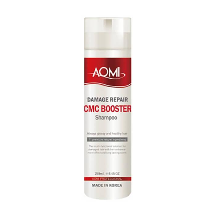 Купить Шампунь для волос AOMI Damage Repair CMC Booster Hair Shampoo, Шампунь с смс-комплексом для интенсивного ухода за повреждёнными волосами, Южная Корея