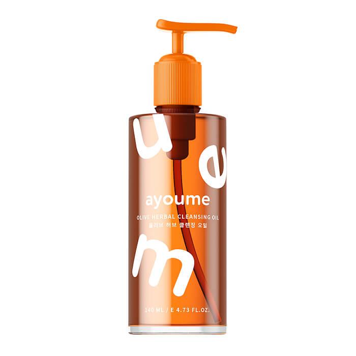 Купить Гидрофильное масло Ayoume Bubble Cleansing Oil, Гидрофильное масло-пенка для снятия макияжа лица, Южная Корея