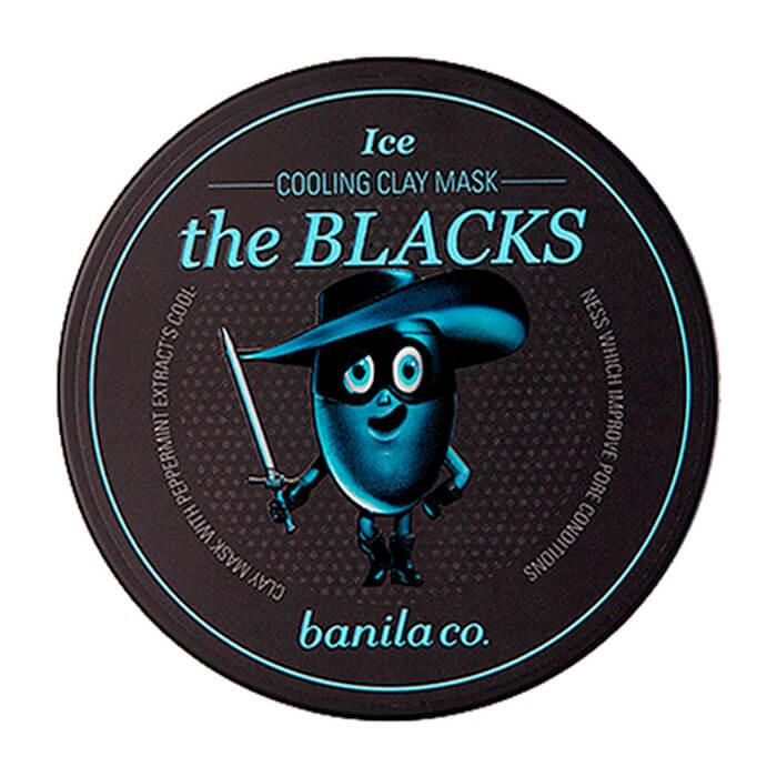 Купить со скидкой Глиняная маска Banila Co. The Blacks Cooling Clay Mask - Ice