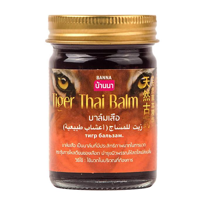 Бальзам для тела Banna Tiger Thai Balm Многофункциональный тигровый бальзам для тела фото