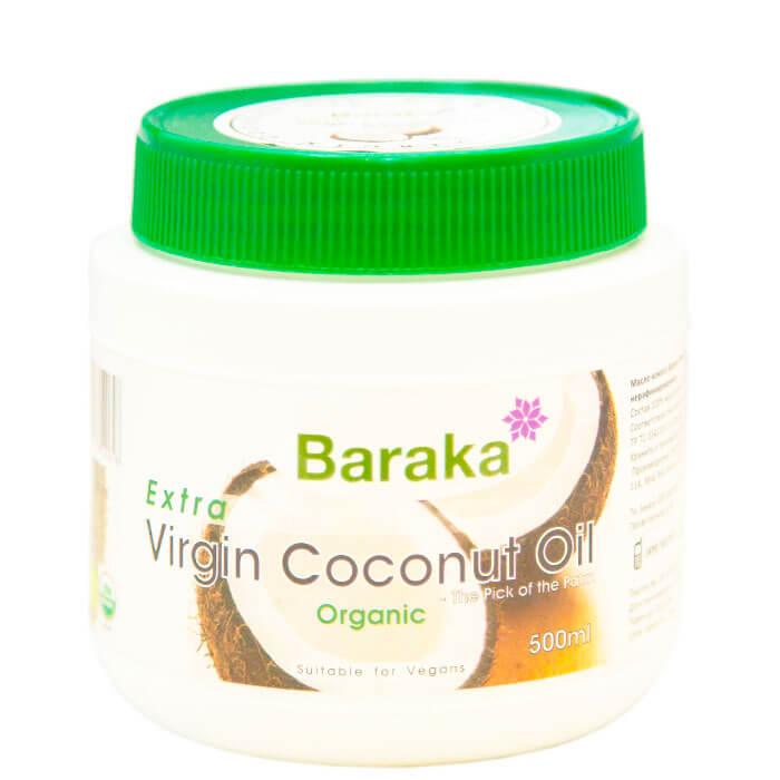 Купить со скидкой Кокосовое масло Baraka Extra Virgin Coconut Oil (500 мл)